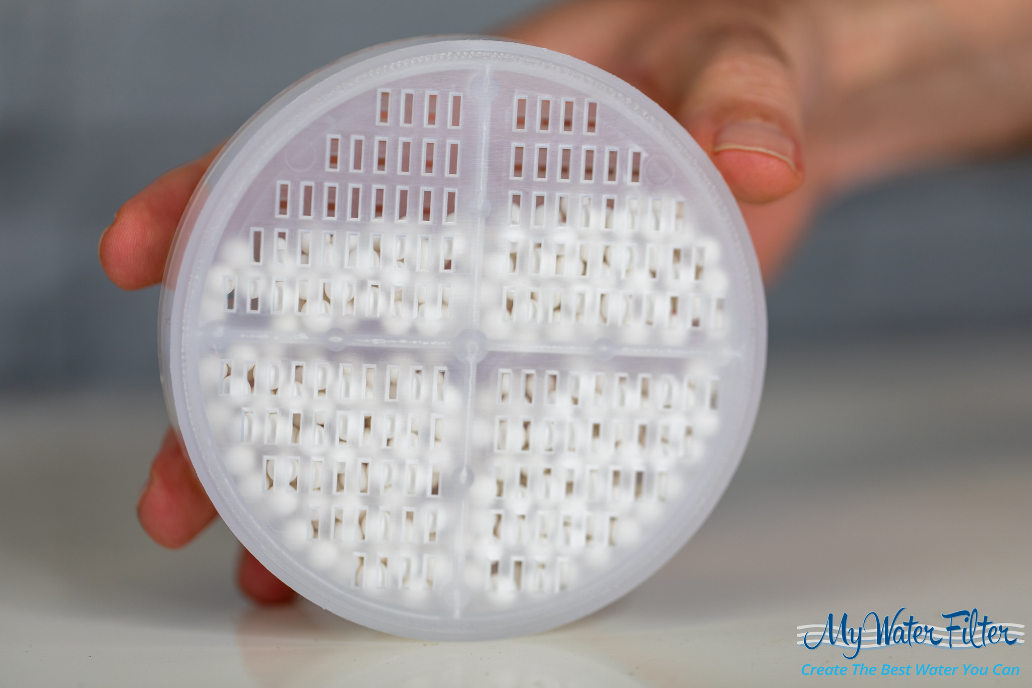 Aroma Sense Q Vitamin C Shower Filter shower head antibacterial ceramic balls